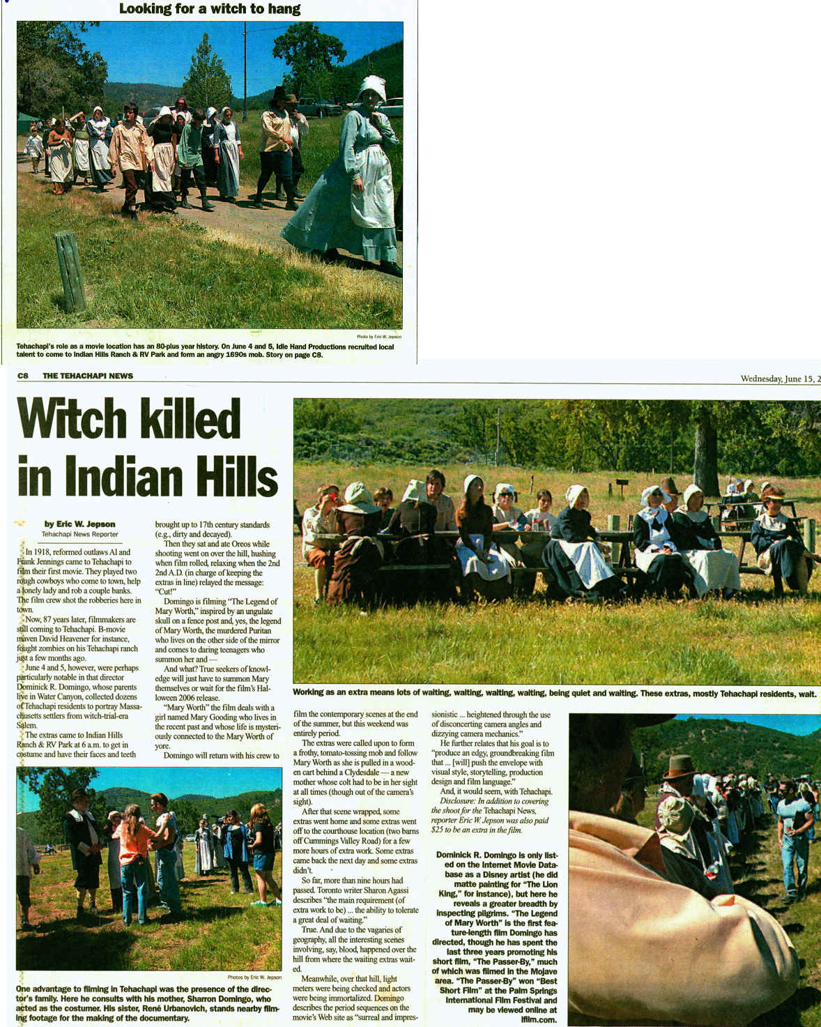 Bulletin Board- Indian Hill Ranch Information, News & Stories